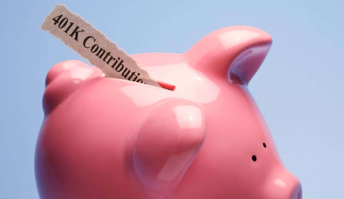 Maximizing Retirement Contributions for Legacy Giving   Piggy Bank with 401k contributions
